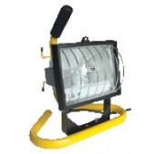 Prenosni halogenski reflektor s podstavkom R7s, 500W, 118 mm
