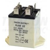 Rele velike moči 110 V AC z 2 preklop. kontakt., 230 V AC / 28 V DC