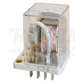 Rele velike moči 110 V DC s 3 preklop. kontakt., 230 V AC / 28 V DC