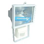 Reflektor halogenski s senzorjem R7s,150W, 78mm, bel, IP54,120°