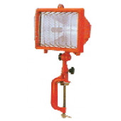 Prenosni halogenski reflektor R7s 500W 118mm IP54