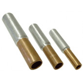 Cu-Al vezni tulec 185/240 mm2, d1=18,5 mm, d2=21 mm