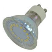 SMD LED spot žarnica 230V, 50Hz, MR16, 4W, 6400K, 320lm, 15×LED3528, 120°