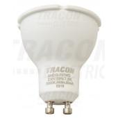 SMD LED spot svetilo z mlečnim steklom 175-250 V, 50 Hz, GU10, 9 W, 800 lm, 6000 K, 100°, EEI=A+