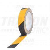 Protizdrsni trak, rumeno-črn 5m × 50mm