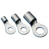 Očesni kabelski čevelj 1,5 mm2, d1=2,5 mm, d2=6,4 mm