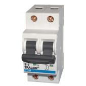 Instalacijski odklopnik - avtomatska varovalka (10 kA) B-2P-1A