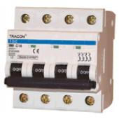 Instalacijski odklopnik - avtomatska varovalka C-4P-50 A, 4,5 kA