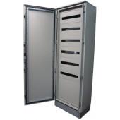 Modularna kovinska omara, brez stranic in montažne ploščeL×W×H=1800×600×500mm, IP55