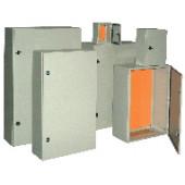 Kovinska razdelilna omara IP55 400x300x150 mm
