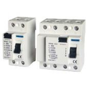 Omrežno zaščitno stikalo - FID 25 A, 100 mA, 2P, 6 kA, AC