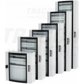 Kovinska razdelilna omara-ukrivljena varnostna steklena vrata 600×1200×200mm / 168M (24×7 mod)