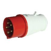 Industrijski vtikač 16A, 400V, 3P+N+E, IP44