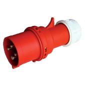 Industrijski vtikač 32A, 400V, 3P+E, IP44 s tesnilno uvodnico