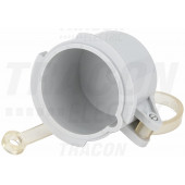 Vodoodporna kapa za vtikač TICS-0142H.. (16A,4P) d=51mm, IP67