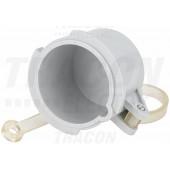 Vodoodporna kapa za vtikač TICS-033..,TICS-034..,TICS-035..,(63A,3P/4P/5P) d=71,5mm, IP67
