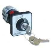 Glavno stikalo z ohišjem in ključavnico, 4P, 25 A, 400 V, ON-OF