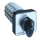 Grebenasto stikalo z ohišjem, (1-0-2) 400V, 25A, 2×4P, 7,5kW, 48×48mm, 90°, IP65