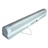 Zasilna neonska svetilka, 230V, T5, G5, 1×18W, 4h, 6V/4Ah, Pb