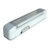 Zasilna neonska svetilka, 230V, T5, G5, 2×8W, 3/6h, 6V / 4Ah, Pb