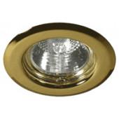 Vgradna svetilka, MR16, 80mm, 30°, mat zlata