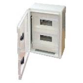 Plastična razdelilna omara 400x300x195mm, IP65, prozorna vrata