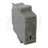 DC prenapetostni odvodni vložek 600 VDC, 20/40 kA (8/20µs) 2P