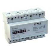 Števec električne porabe – elektromehanski, merjenje s transformatorjem, 3F, 400V / 5A CT