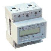 Števec električne porabe - LCD prikaz, neposredno merjenje, 1F, 230V / 20 (100)A