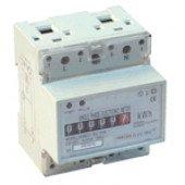 Števec električne porabe – elektromehanski, merjenje s transformatorjem, 1F, 400V / 5A CT