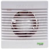 Ventilator za kopalnico (kroglični ležaj + timer + loputa + senzor vlažnosti) 230 VAC, 15 W, 80 m3 / h, 33 dB, 100 mm