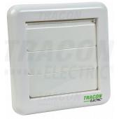 Zunanja loputa za kopalniški ventilator 151 × 151 × 45 mm, D = 96 mm
