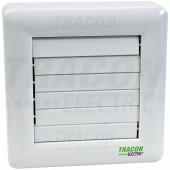 Ventilator za kopalnico z loputo (kroglični ležaj + timer) 230 VAC, 15 W, 80 m3 / h, 33 dB, 100 mm