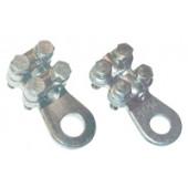 Vijačni kabelski čevelj 16-25 mm2, d2=8,5 mm, 2 vijaka