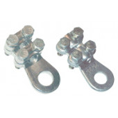 Vijačni bakreni kabelski cevni čevelj 300 mm2, d2=21 mm