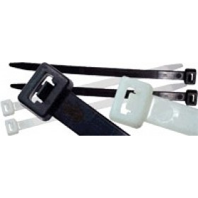 Kabelska vezica 160 x 2.6 mm črna, PA 6.6
