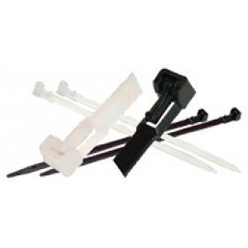Odvezljiva vezica 350×8 mm bela PA 6.6