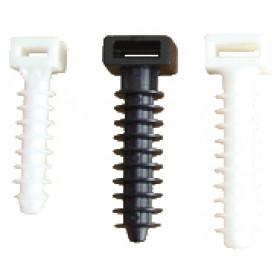 Udarni zamašek za spenjanje kablov, d=8 mm, bel