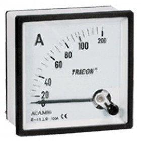 Analogni ampermeter za neposredno merjenje izmeničnega toka, 96×96mm, 30A AC