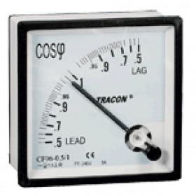 Instrument za merjenje cosinus Ø, 72×72mm, 400V AC, 0,5