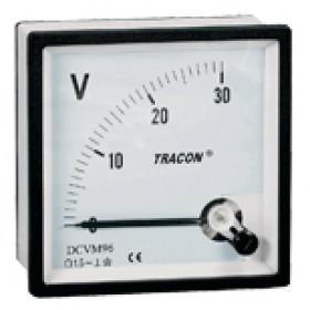 Analogni osnovni instrument za merjenje enosmernega toka za shontom, 96×96mm, DC