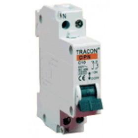 Instalacijski odklopnik - avtomatska varovalka C-1P+N-10 A, 6 kA