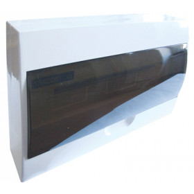 Omarica nadometna 1 vrsta/18 modul siva vrata IP42