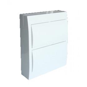 Omarica nadometna 2 vrsta/12 modul, bela vrata IP42