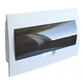 Omarica podometna 1 vrsta/18 modul, vrata sive barve IP42