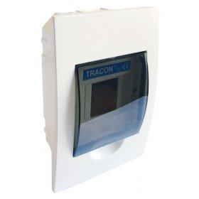 Omarica podometna 1 vrsta/4 modul, vrata sive barve, IP42