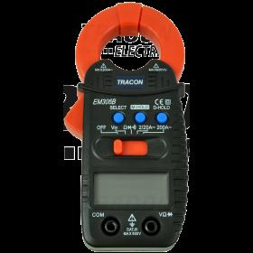 Digitalne električne klešče DCV, ACV, DCA 200A, OHM