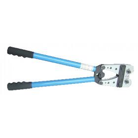 Klešče za stiskanje neizoliranih kabelskih čevljev 10-120 mm2