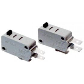 Pozicijsko stikalo, mikro, odbojno 10(3)A / 250V AC, 4,8x0,8 mm, IP00
