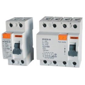 Omrežno zaščitno stikalo - FID 25 A, 100 mA, 4P, 6 kA, AC